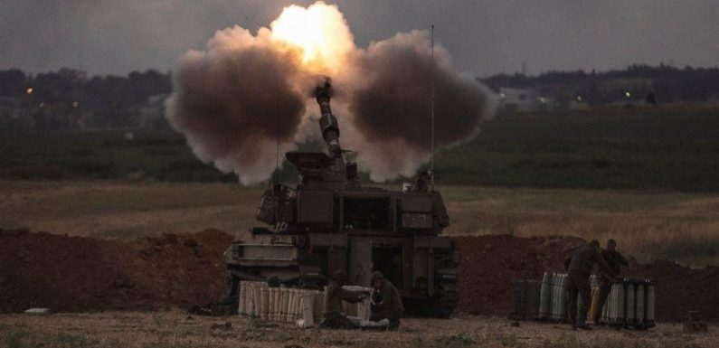 Israeli medics: 10 wounded, 4 seriously, in strike from Gaza