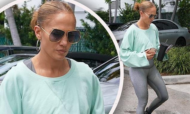 Jennifer Lopez hits the gym after Montana getaway with Ben Affleck