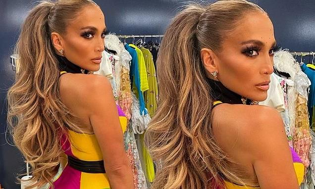 Jennifer Lopez shares snaps of her SIZZLING outfits from Vax LIve
