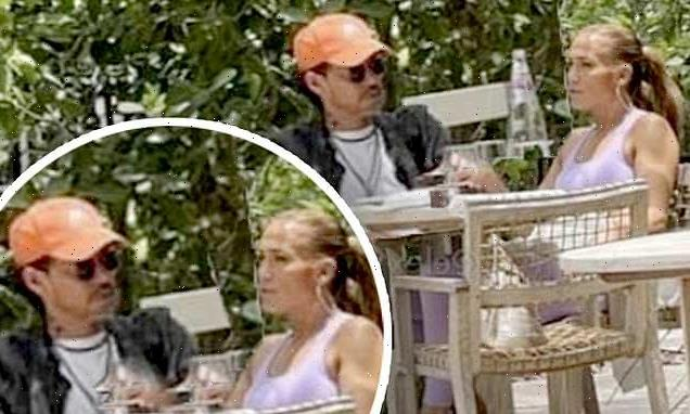 Jennifer Lopez spotted out to lunch with her OTHER ex Marc Anthony