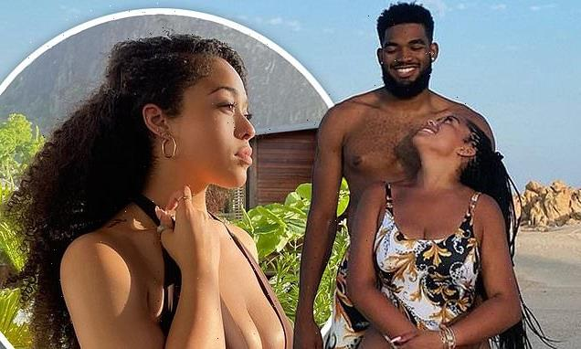 Jordyn Woods and Karl-Anthony Towns ring in their one-yearanniversary