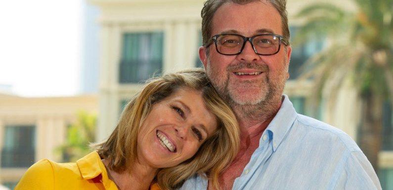 Kate Garraway becomes emotional as she reveals husband Derek Draper wished her a happy birthday