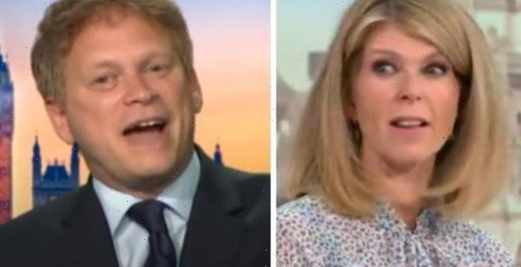 Kate Garraway shames Grant Shapps for comparing Conservatives to Labour: 'I can't believe'