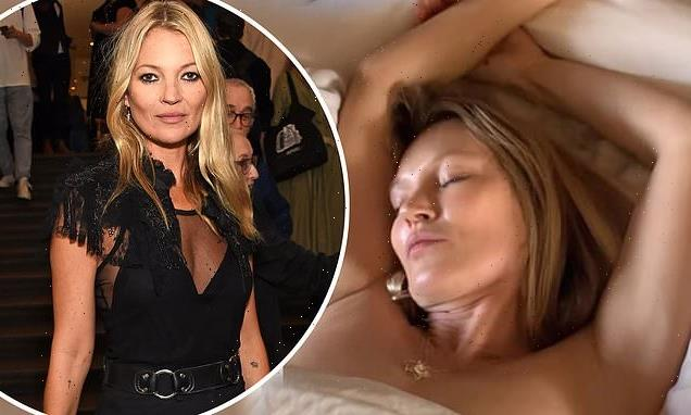 Kate Moss offers fans a chance to see her in bed for video art auction