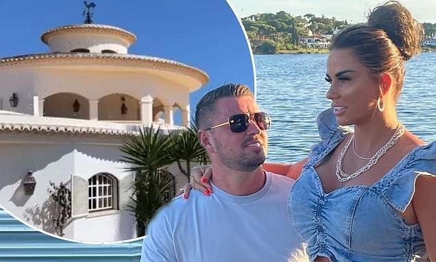 Katie Price's fiancé Carl Woods gives tour of huge Portuguese villa
