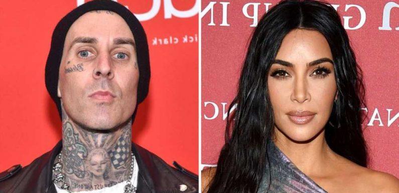 Kim Kardashian Breaks Silence Over Travis Barker Hookup Claims