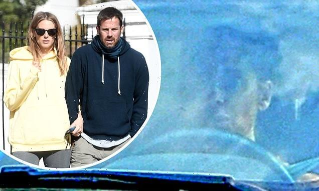 Louise Redknapp seen amid ex Jamie and Frida Anderson's baby news