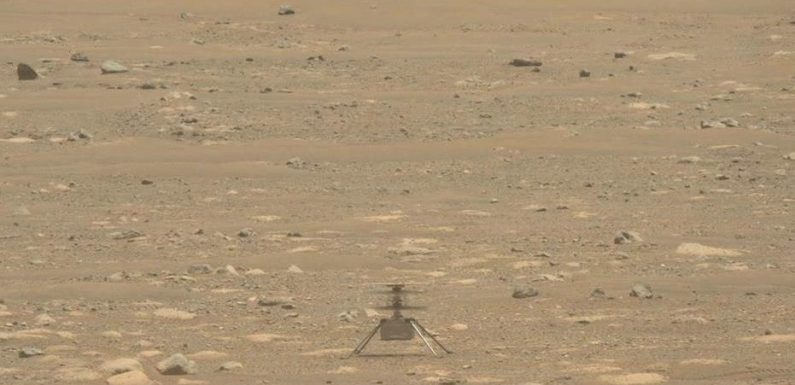 Mars helicopter Ingenuity experiences anomaly on 6th flight, lands safely anyway