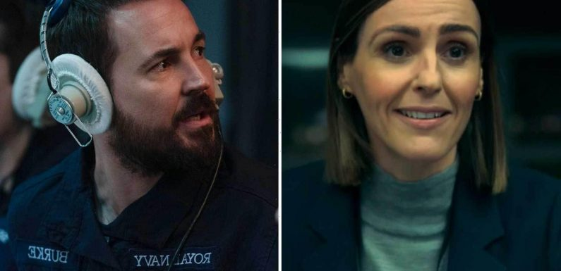 Martin Compston and Suranne Jones front first trailer for tense new BBC thriller Vigil from creators of Line of Duty
