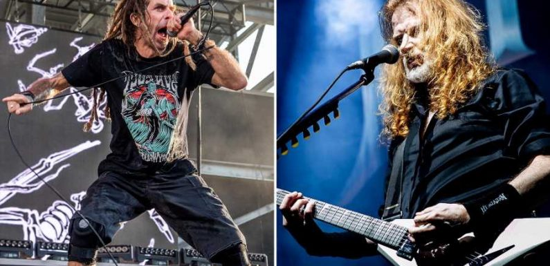 Megadeth, Lamb of God Announce Rescheduled 'Metal Tour of the Year'