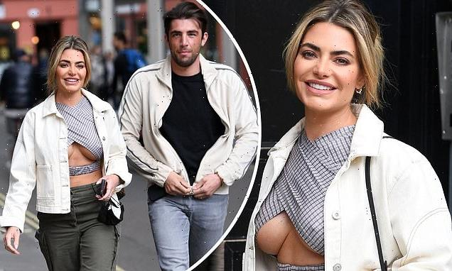 Megan Barton Hanson flaunts some serious underboob in cut-out top