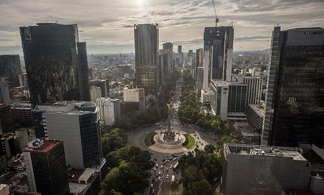 Mexico City is SINKING at an 'unstoppable rate' of 20 inches a year