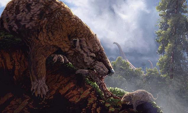 Modern mammal ancestors weren't held back by dinos but OTHER mammals