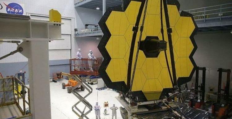 NASA's alien hunting James Webb Telescope opens mirror for final time