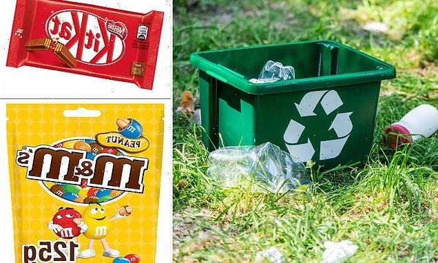 Packaging of popular branded products is less recyclable in the UK