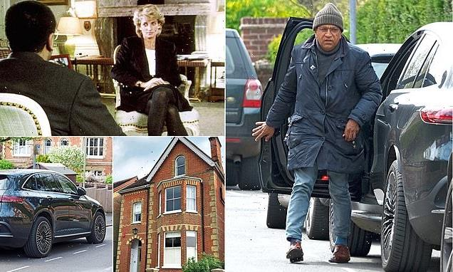 Pictured: Martin Bashir's new £1.7m home and £66,000 Mercedes