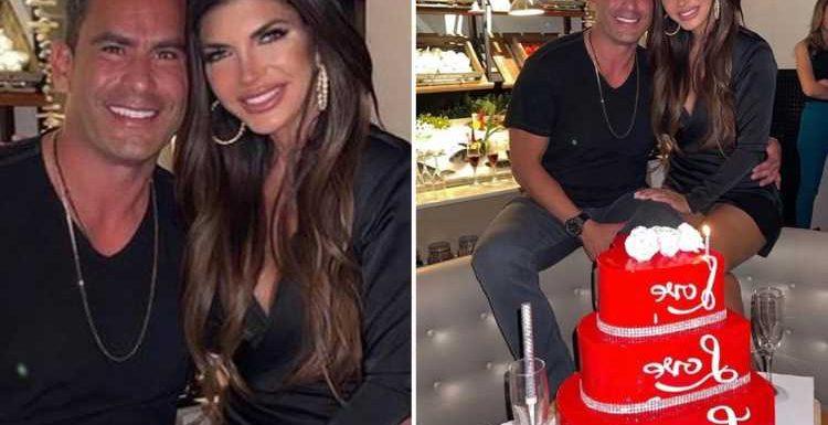 RHONJ's Teresa Giudice cuddles boyfriend Luis Ruelas and calls him her 'wish come true' as she celebrates 49th birthday