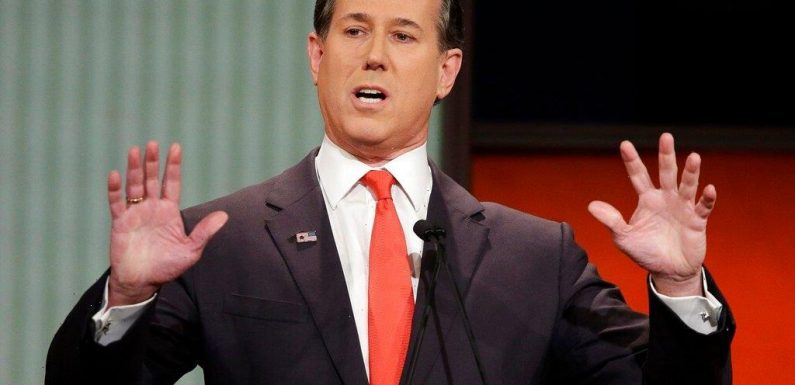 """Rick Santorum Responds To Getting Dropped By CNN: """"I Told The Truth Here"""""""
