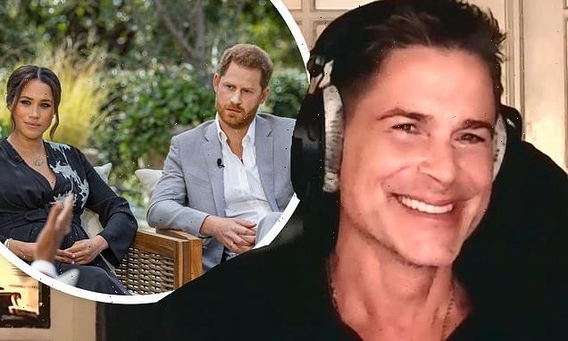 Rob Lowe talks about Prince Harry and Meghan Markle's interview