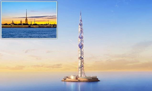 Russians to build Europe's tallest building next to current highest