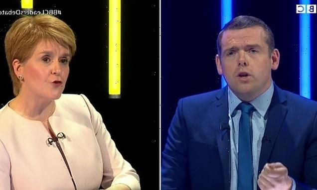 Scottish party leaders clash with Nicola Sturgeon on independence