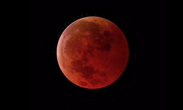 Super Flower Blood Moon will appear on Wednesday