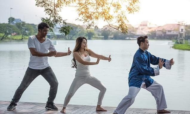 Tai chi as beneficial as exercise in tackling middle-aged spread