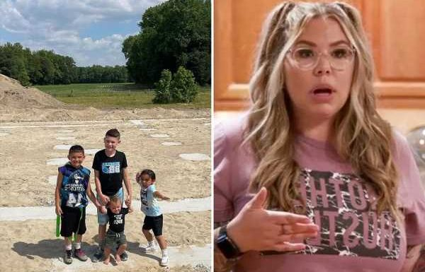 Teen Mom Kailyn Lowry reveals she 'cried her eyes out' after realizing her new dream home will be 'too small'