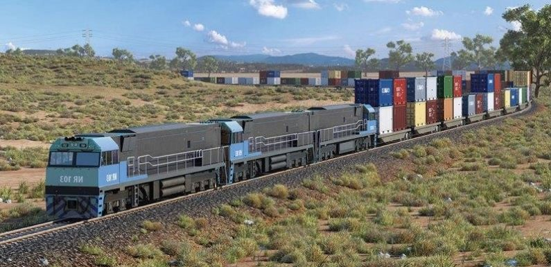 Truck protesters doubt new freight rail link's congestion-busting benefits