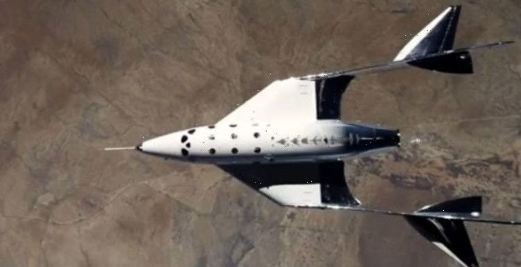 Virgin Galactic reaches edge of space as it prepares to take tourists to the skies