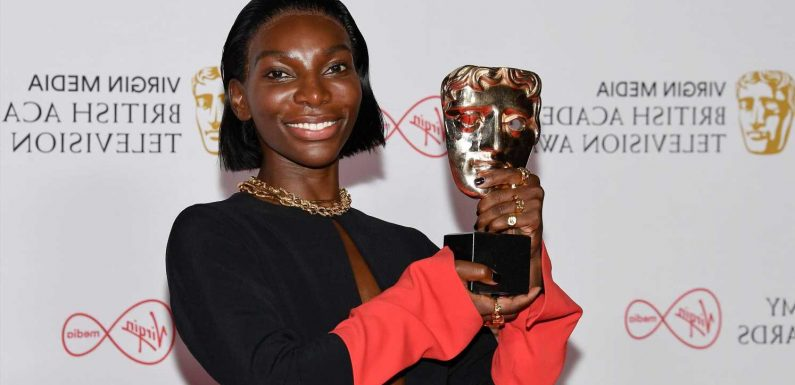 'I May Destroy You,' 'Normal People' take home prizes at the 2021 BAFTA TV Awards