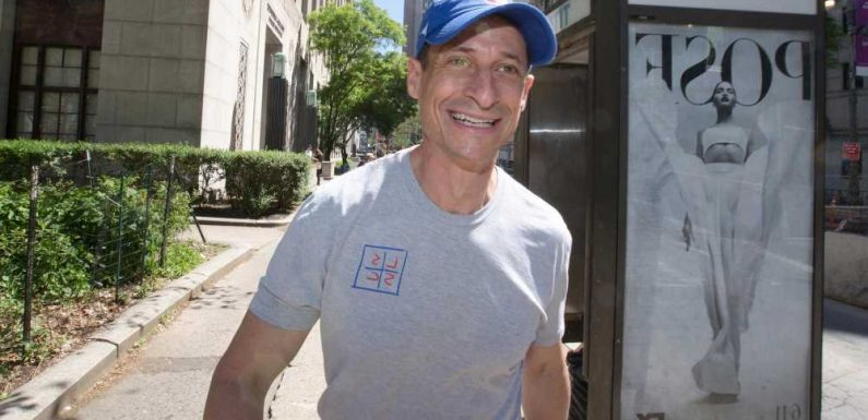 Anthony Weiner may sell his infamous crotch shot as an NFT