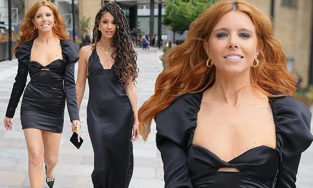 BAFTA TV presenters Stacey Dooley and Vick Hope wow in black ensembles