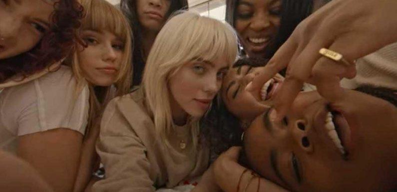 Billie Eilish Twerks, Goofs Off With Pals in 'Lost Cause' Music Video