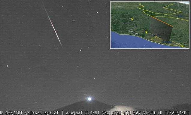 Brazil fireball could be another object from outside the Solar System