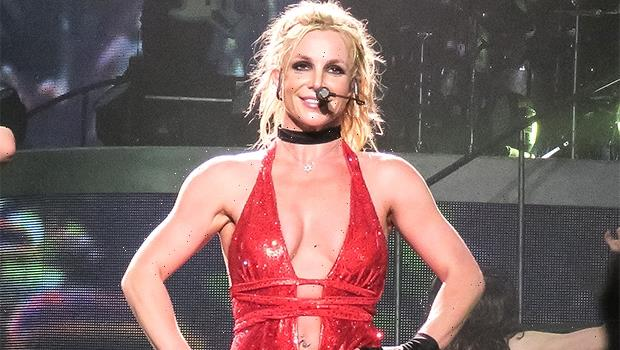 Britney Spears Slays In Majorly Plunging Pink Bodysuit For Newest Dance Video