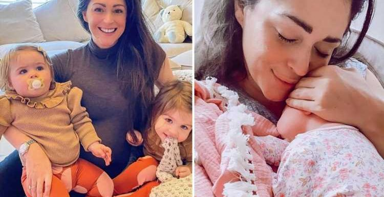 Casey Bachelor reveals baby daughter's adorable name after 'complicated' birth
