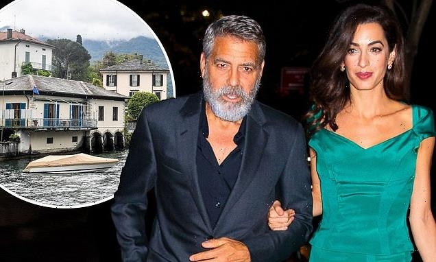 George Clooney and Amal 'jet off to Lake Como for twins' birthday'