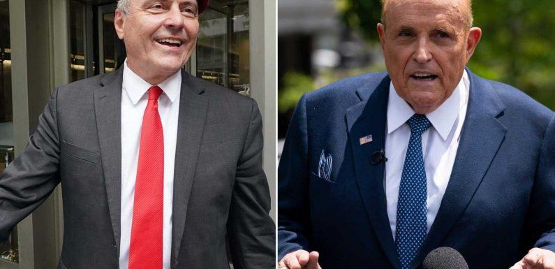 Giuliani endorses Sliwa for mayor in robocall to GOP voters