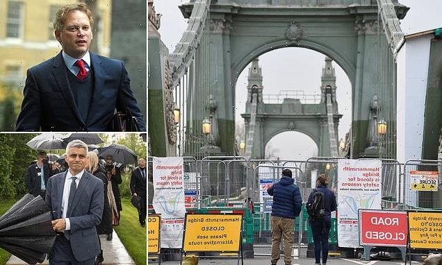 Grant Shapps demands Hammersmith Bridge be reopened this summer