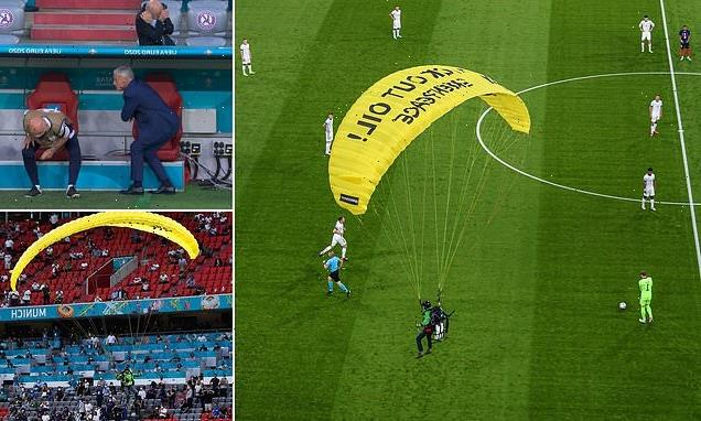Greenpeace apologise for Euro 2020 stunt horror that left two injured