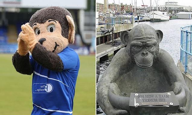 Hartlepool council will put a sign on 'unfriendly' monkey statue