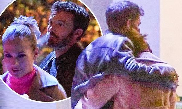 Jennifer Lopez and Ben Affleck enjoy romantic dinner in West Hollywood