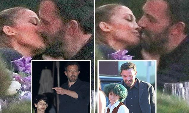 Jennifer Lopez and Ben Affleck pack on PDA as they passionately KISS