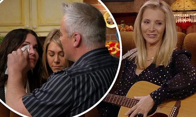 Lisa highlights blink-and-miss-it tender moment on Friends reunion
