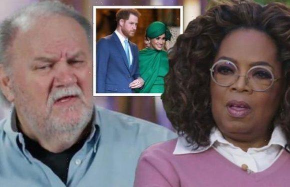 Meghan Markle's father slams Oprah over Prince Harry interview: 'She's taken advantage'