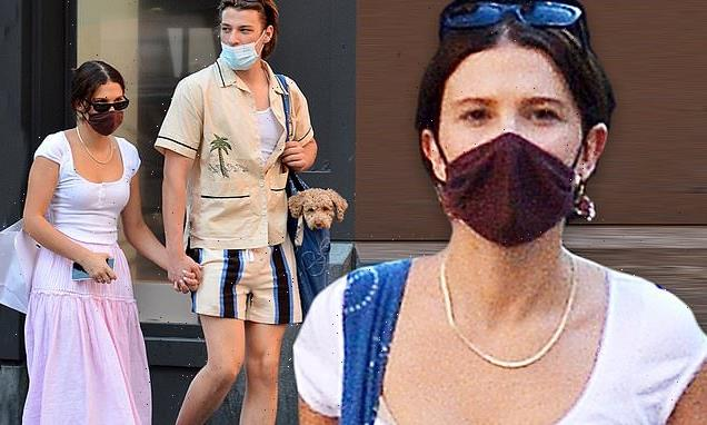 Millie Bobby Brown and beau Jake Bongiovi hold hands in NYC