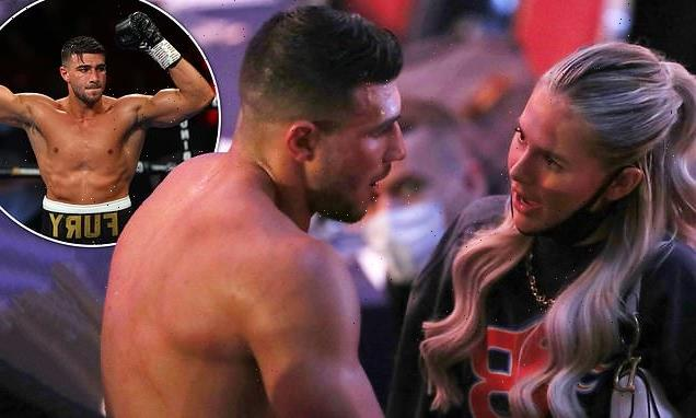 Molly-Mae Hague 'targeted by explicit chants' at Tommy Fury's match