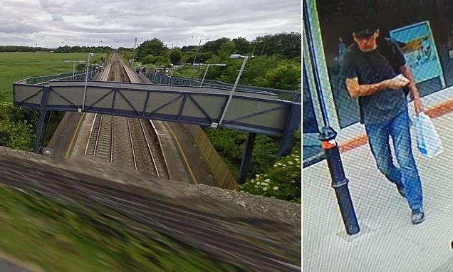 Pictured: Man killed by train who police still cannot identify
