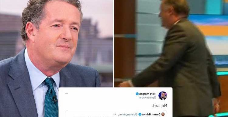 Piers Morgan admits he's 'sad' as Good Morning Britain pulls in its lowest ever ratings after losing 1.2m viewers